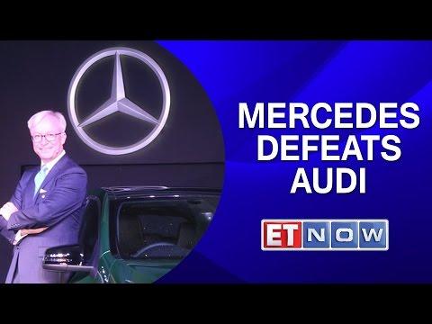 Mercedes Defeats Audi ; Tops India Sales Charts