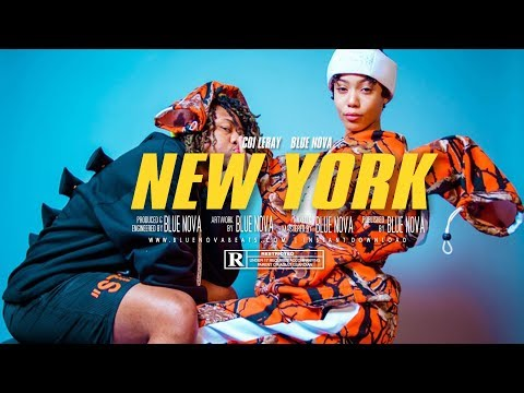 FREE Coi Leray  YBN Nahmir Type Beat - quotNEW YORKquot  Instrumental 2018  BlueNovaBeats