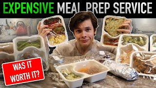 I Tried One of The Most Expensive Meal Prep Services in My City | Was it Worth it?