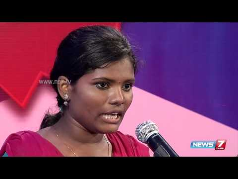 News7 Tamil's speech competition: Winners speech at senior level | 1st Anniversary Celebration