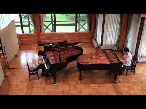 キャラバンの到着 Arrivée des camionneurs [Piano Duo]