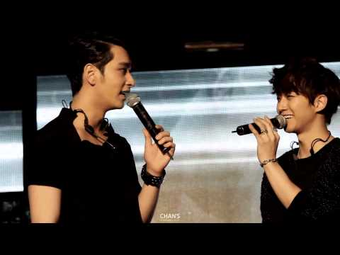 [찬성+준호] 2PM IS BACK with Genie! 강남역 M-Stage