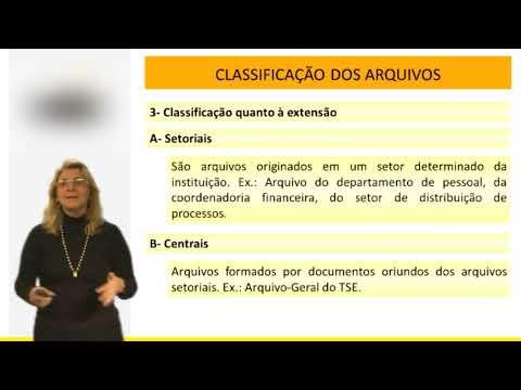 Administração - Arquivologia - Avaliação de Documentos - Vídeo Aula Concurso 2014