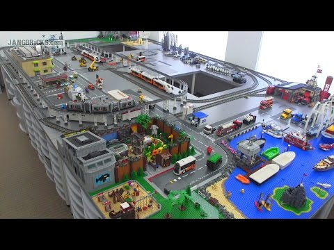 JANGBRiCKS LEGO City update & walkthrough Aug. 13, 2014