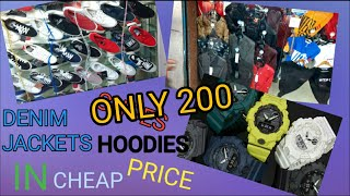 WINTER CLOTHS IN CHEAP PRICE || LEATHER JACKETS || DENIM JACKETS || HOODIES || VLOG ||