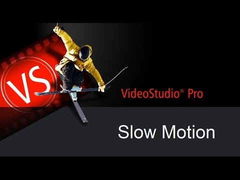 Corel VideoStudio X7 - Creating the Slow Motion Effect