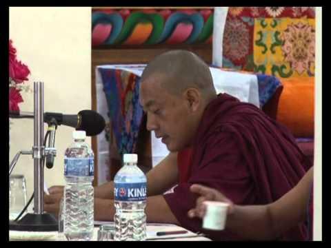 Dre-Gowo1-Khamtsen Debate for H.H Dalai Lama