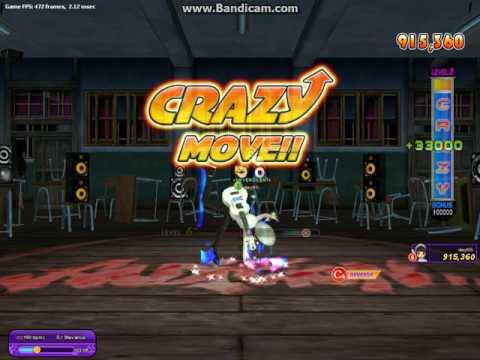 Audition Ayodance Indonesia Crazy Dance-8, Reverse Chance 6, CCK 180 Bpm Score 2,5jt miss 3