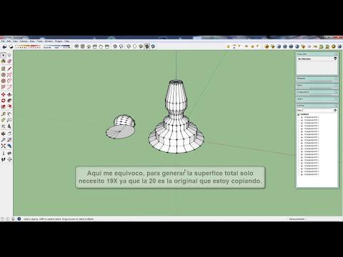 Curso gratuito de Sketchup 2014 en español tutorial 14