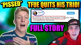 Tfue LOST $140K Because CLOAKZY & 72 Did This.. Tfue QUITS!