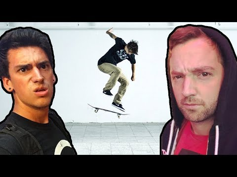 Dirty Tricks In A Game Of Skate!?!?
