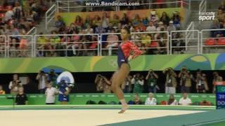 Gabriel Douglas USA Qual Fx Olympics Rio 2016