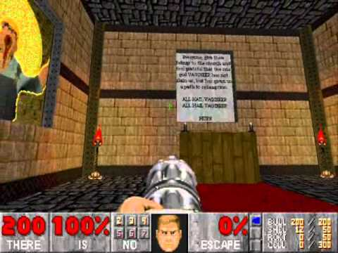 Pauls Gaming - Doom2 map - DUME2 (by EDSTheBlondHead)