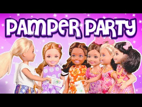 Barbie - Chelsea's Birthday Pamper Party