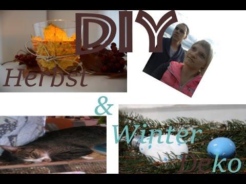 DIY KREATIVE EINZIGARTIGE Herbst Und Winterdeko