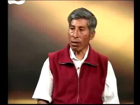 Evaristo Futue, conferencista en cosmovisión andina