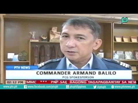 [PTVNews-1pm] PCG, puspusan na ang hakbang upang maalis ang Cargo Vessel sa Manila Bay [07|20|16]