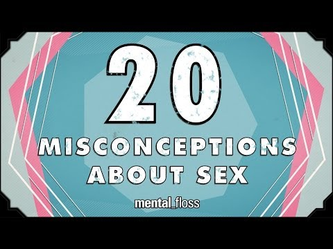 20 Misconceptions About Sex - Mental floss On Youtube (ep.212) video