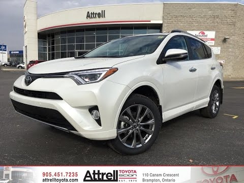 2017 toyota rav4 awd platinum brampton on attrell