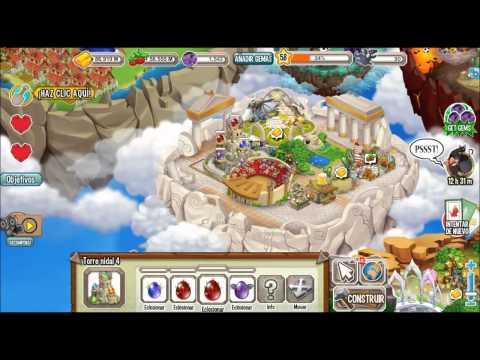 SANTUARIO DE CRIA : información y como sacar al dragón mago y al dragón ninja de dragon city