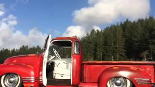 1953 Air Ride Chevy Deluxe Truck