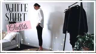 How To Style A Smart White Shirt | 2019 Outfit Ideas