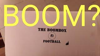 Original Boombox football card opening!