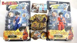 Ad và Bo Chơi ăn thẻ Luffy, Ai sẽ được quà - Truy tìm 7 viên ngọc rồng và Son Gokou Dragon Ball