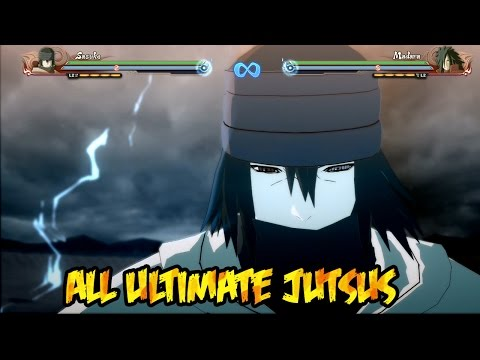 Naruto Shippuden Ultimate Ninja Storm 4 : All Ultimate Jutsus!