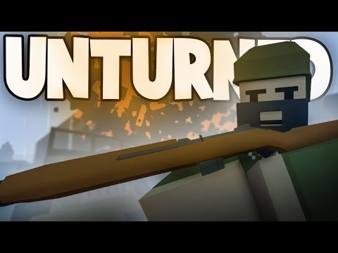 Unturned HUGE WORLD WAR II BATTLE! (Custom WW2 Modded RP Server PvP) thumbnail