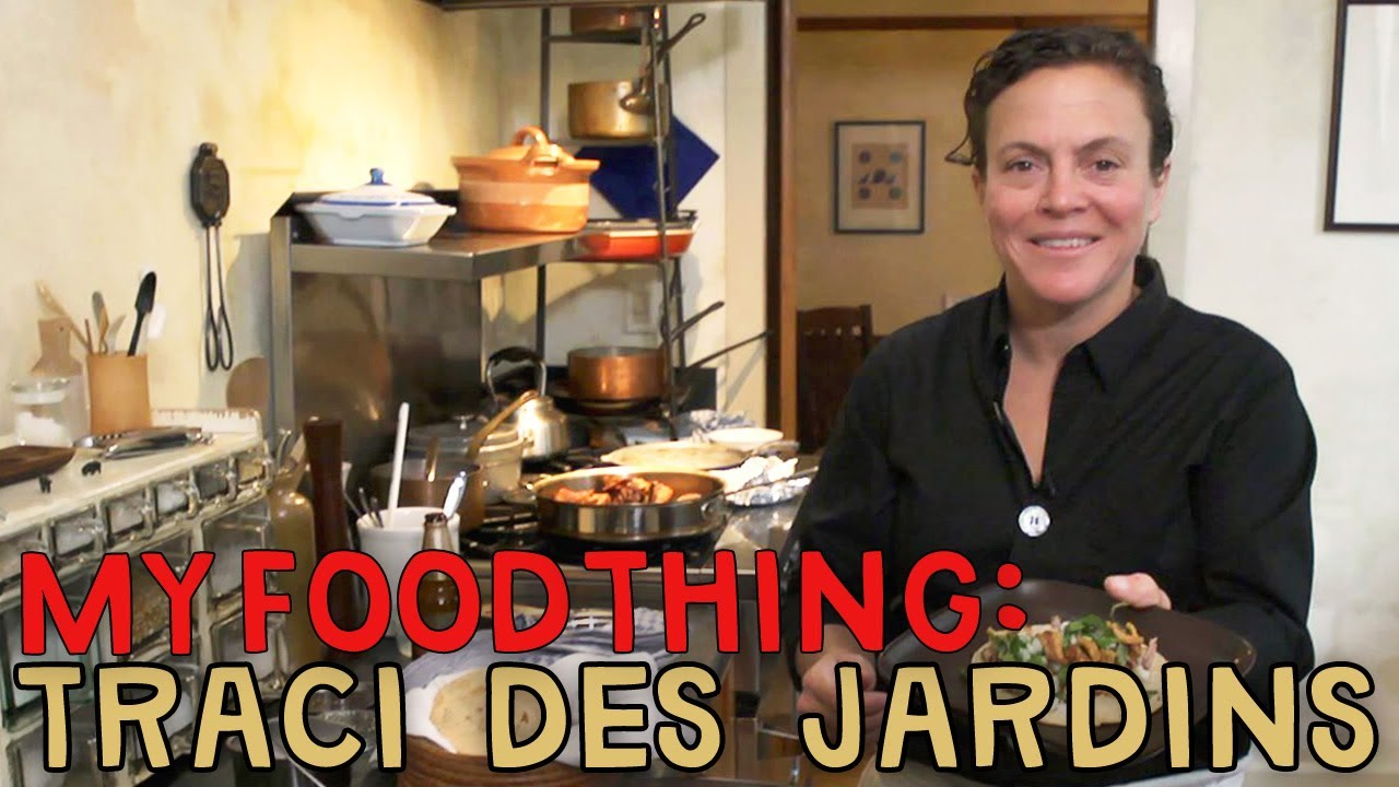 Traci Des Jardins's Homemade Carnitas Tacos - My Food Thing - YouTube