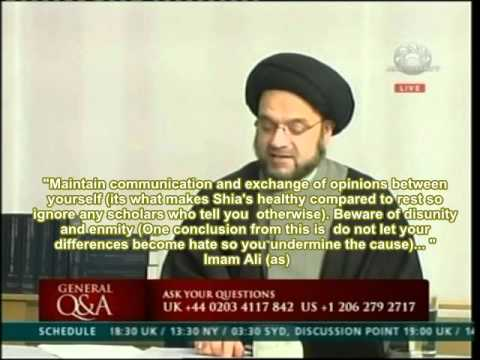 Shia Salat Namaz Wudu Syed Mohammed Al Musawi Ahlulbayt Tv How To Perform Salaat According To Shia video