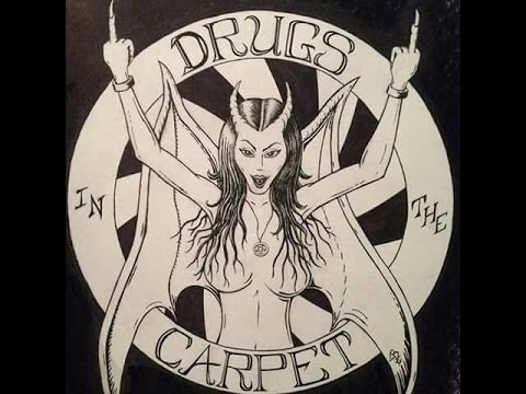 DRUGS IN THE CARPET: courtney love & PIZZA HOTEL PARTY SHOW// INTERVIEW.