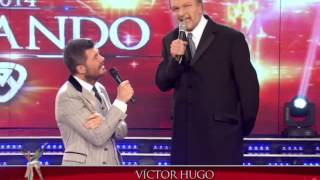 """Víctor Hugo"" en Showmatch 2014"
