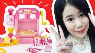 รีวิว ร้านขายป๊อบคอร์น ของเล่นสุดน่ารักจากเกาหลี ( ทำป๊อบคอร์นได้เหมือนจริงฝุดๆ ) | คะน้า Kanakiss