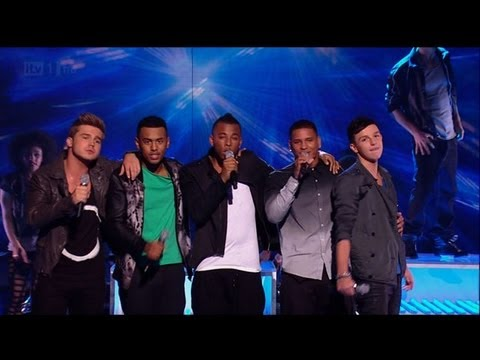 Are Nu Vibe With Or Without You? - The X Factor 2011 Live Show 2 - itv.com/xfactor
