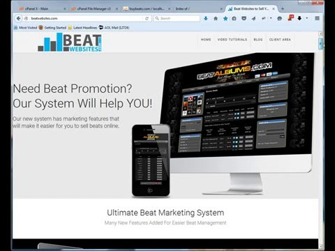 How to install Beat Websites 2.0 for Selling Beats