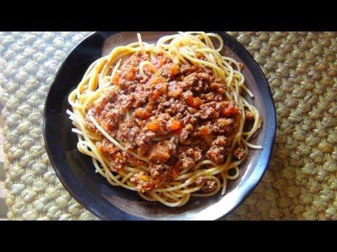 Как приготовить пасту для спагетти - видео