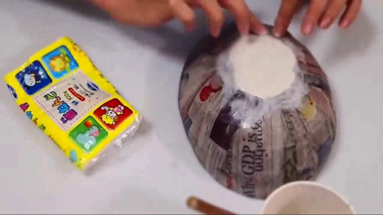 how to make a foam dome