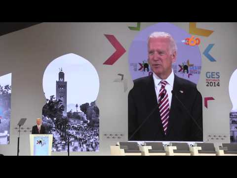 Joe Biden à Marrakech