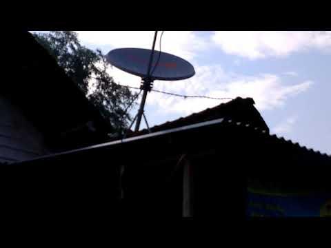Hasil Tracking Parabola Satelite Chinasat11 Ninmedia+Receiver Skybox A1 New AVS+ di Jombang #1