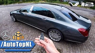 Mercedes Maybach S Class S600 REVIEW POV Test Drive by AutoTopNL