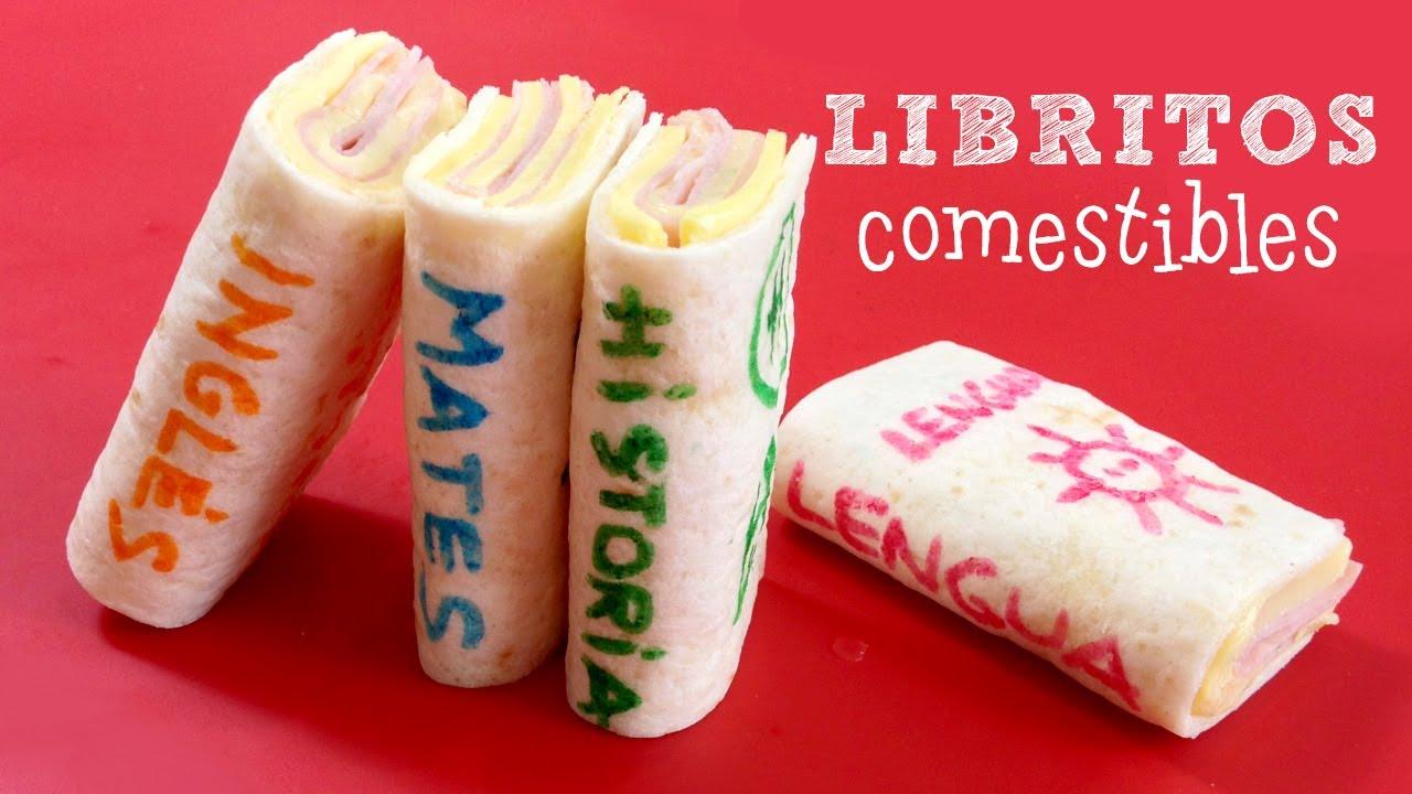 Meriendas divertidas para ni os libritos comestibles for Cocina creativa para ninos