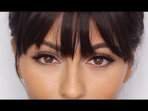 How To Use Clip-In Bangs   How To Hairstyles  & Hair Tutorials   Teni Panosian