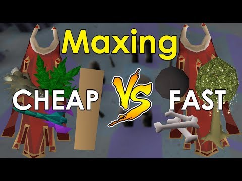 Is It Better To Train Cheaper Or Faster? [Old School Runescape Comparison]