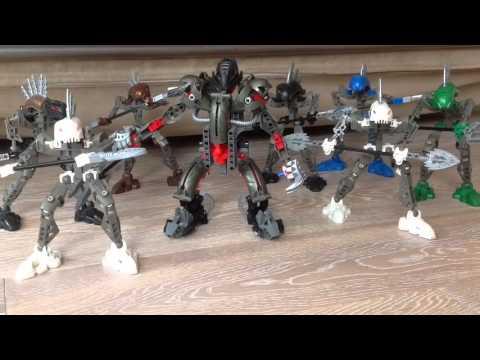 Лего Бионикл - Армия Макуты Теридакса (Ракши) (обзор на русском)
