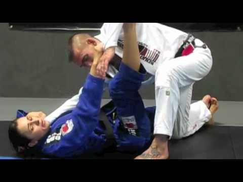 Triangle Choke from Spider Guard with Michelle Nicolini Image 1