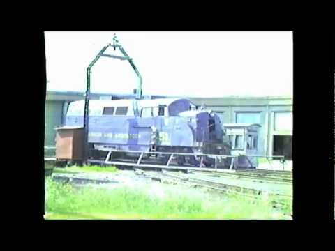 A Moose Mountain Production filmed by Richard 'Moose' Ouellette. Take a look around Bangor & Aroostook's Northern Maine Jct. facility on 08/04/1980. See RARE...