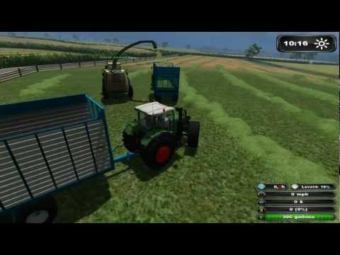 Eire Agri contracting Farming Simulator 2011