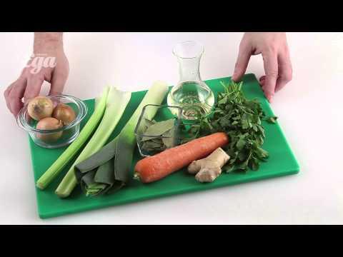 Как приготовить овощной бульон - видео
